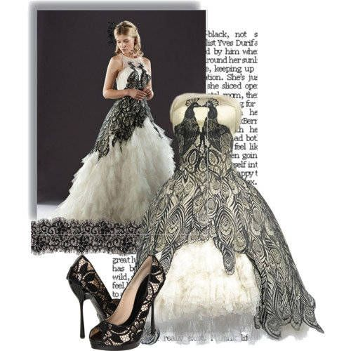 Fleur Delacour's wedding dress - I'm such a harry potter freak that I would wear this. Seriously, it is gorgeous.