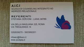SCUOLA COUNSELING Roma -Counseling Scolastico A.I.C.I schoolcounseling:   A.I.C.I. - Scuola di Counseling Integrato ad Ind...