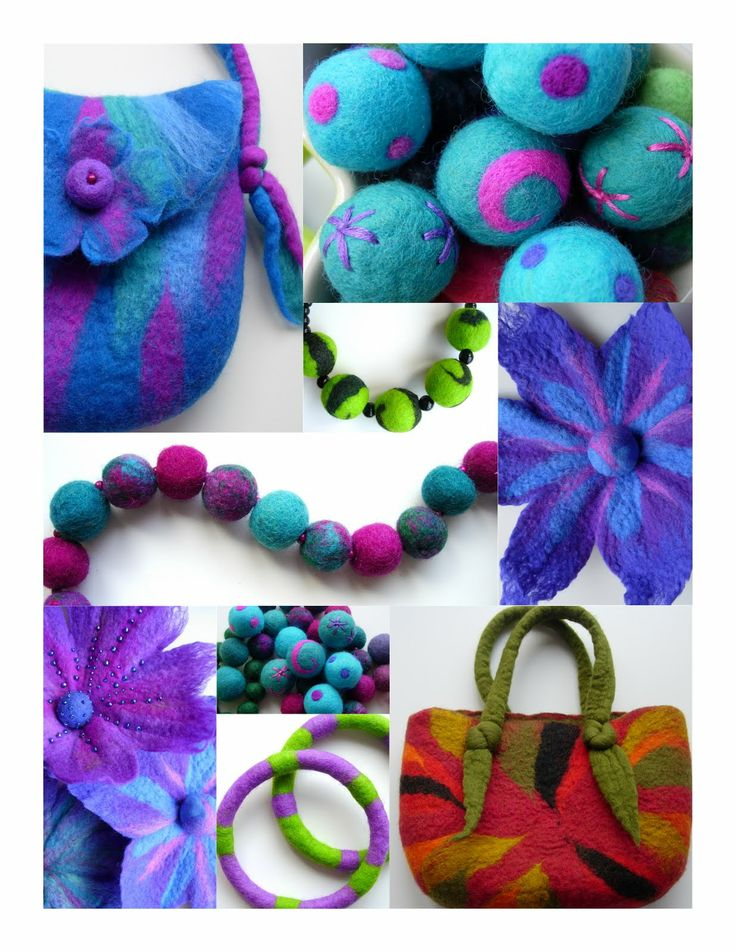 FELTING matters... This is a great website. I have bookmarked the blog