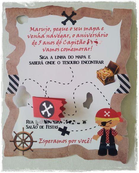 Convite Pirata