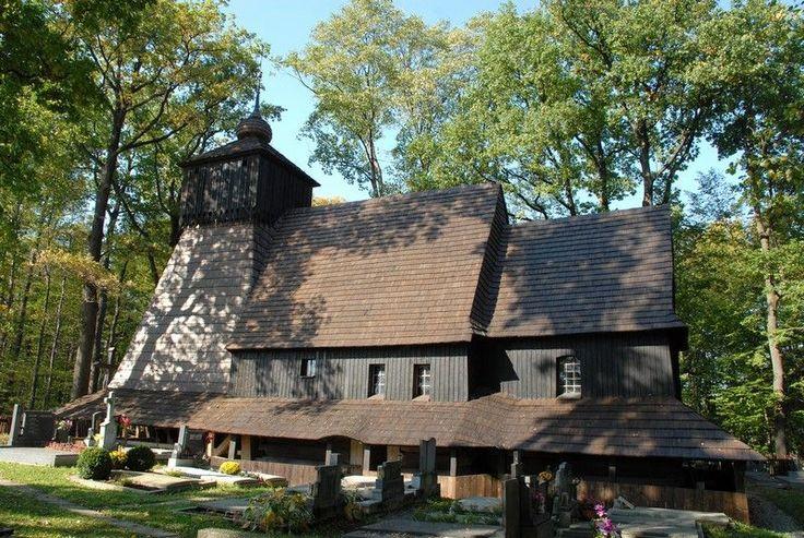 Drevený kostol Božieho tela zo 16. storočia (vyhorel :(