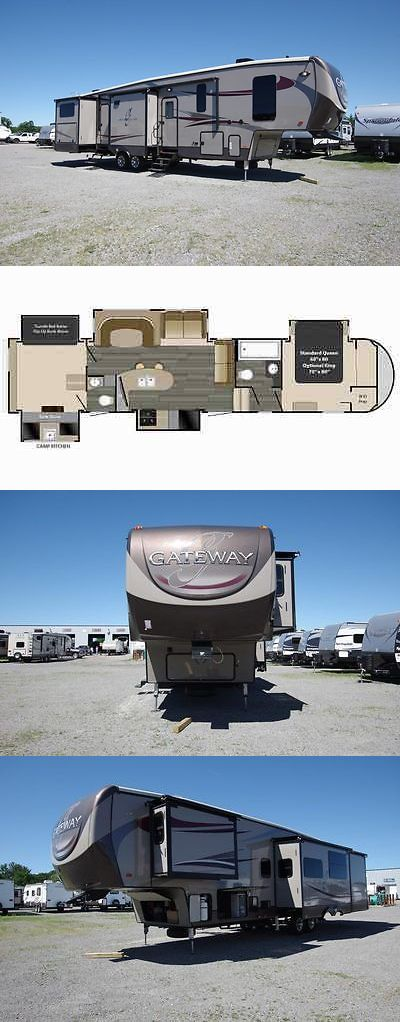 rvs: 2017 Gateway 3650Bh 5Th Wheel Bunkhouse By Heartland Rv BUY IT NOW ONLY: $47752.0