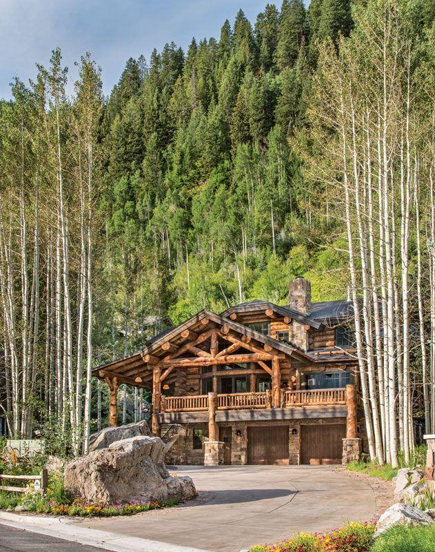 A Colorado Customized Dream Log Home