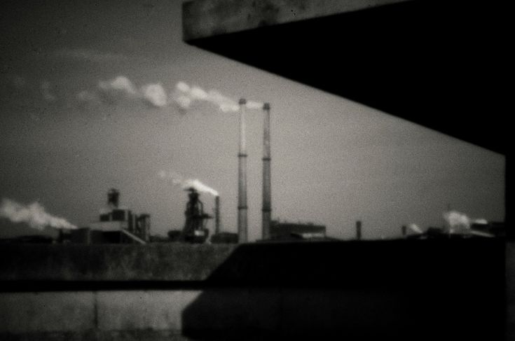 PPS on a Nikon DX. Tatasteel, Hoogovens, IJmuiden, Netherlands. 1600 ISO 1/8 and Snapseed. By Ronald Bellekom