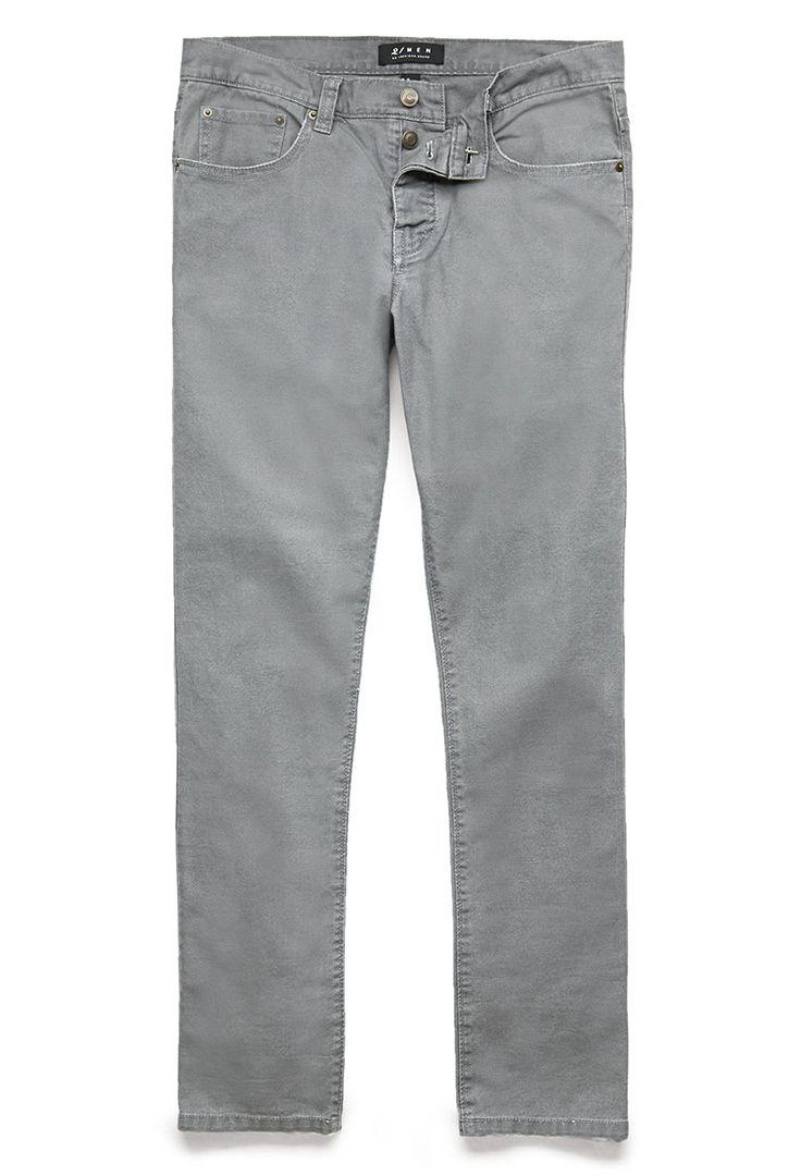 Slim Fit Soft Canvas Pant | 21 MEN - 2000074461