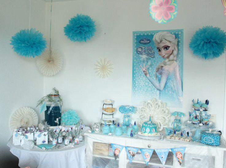 Eiskönigin Geburtstagsparty - Frozen Birthday Party | SASIBELLA