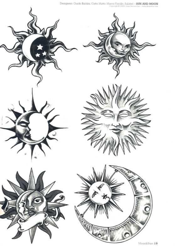 small moon and stars tattoo | nautical star drawings flower sleeve tattoos eagle tattoo hibiscus ...
