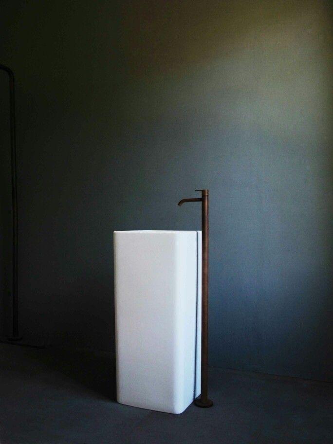 COR-TEN  faucet     www.antoniofrattini.it