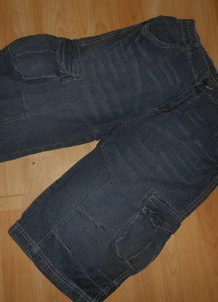 Kaufe meinen Artikel bei #Mamikreisel http://www.mamikreisel.de/kleidung-fur-jungs/caprihosen-und-3-slash-4-hosen/30279590-jeans-bermuda-gr-152-dognose-guter-zustand