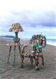 judith selby lang recycled art
