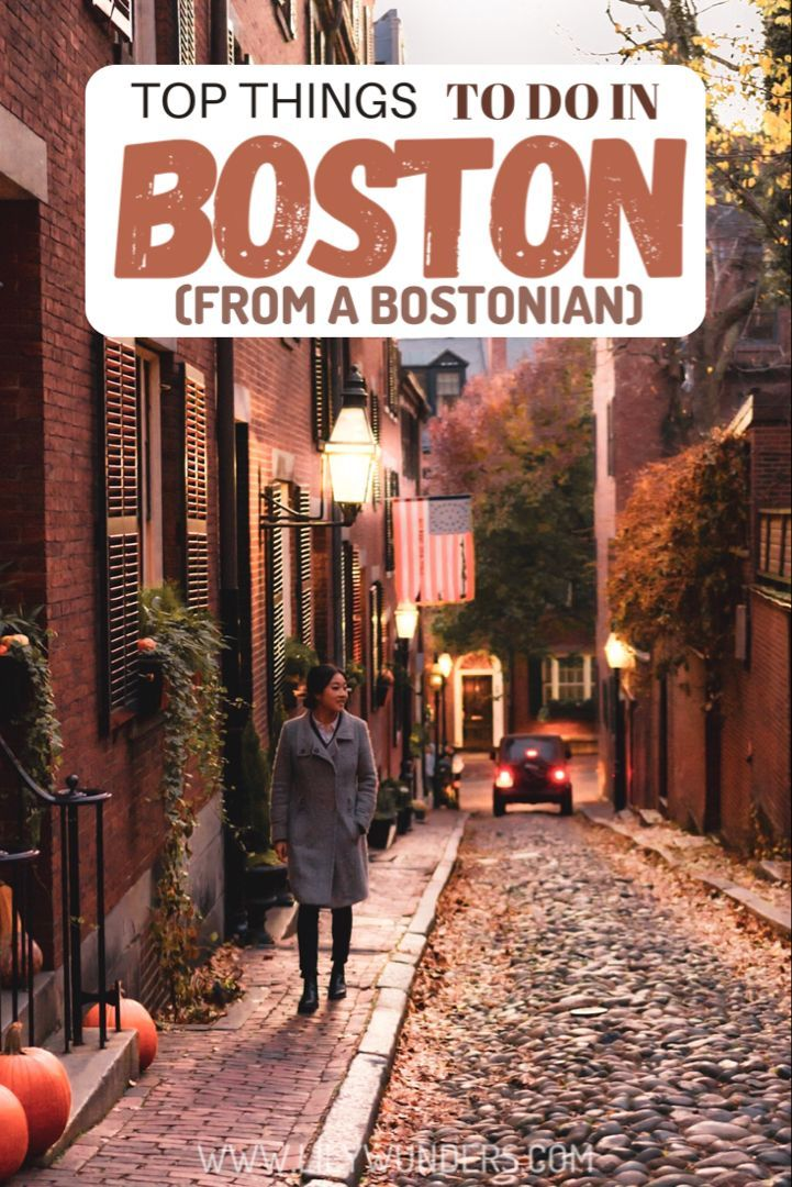 I M From Boston Here Are My Top Things To Do In Boston In 2020