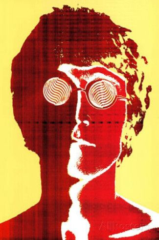 Richard Avedon John Lennon Psychedelic Music Poster Print. Poster from AllPosters.com, $4.99