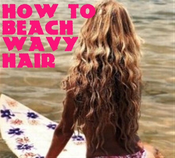 DIY How to: get No Heat Beach Waves Curls Shiny Hair overnight at Home Natural Tutorial