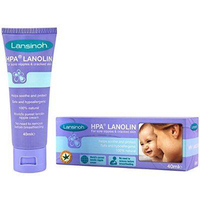 Lansinoh HPA Lanolin Cream 40ml - breast cream (£8)