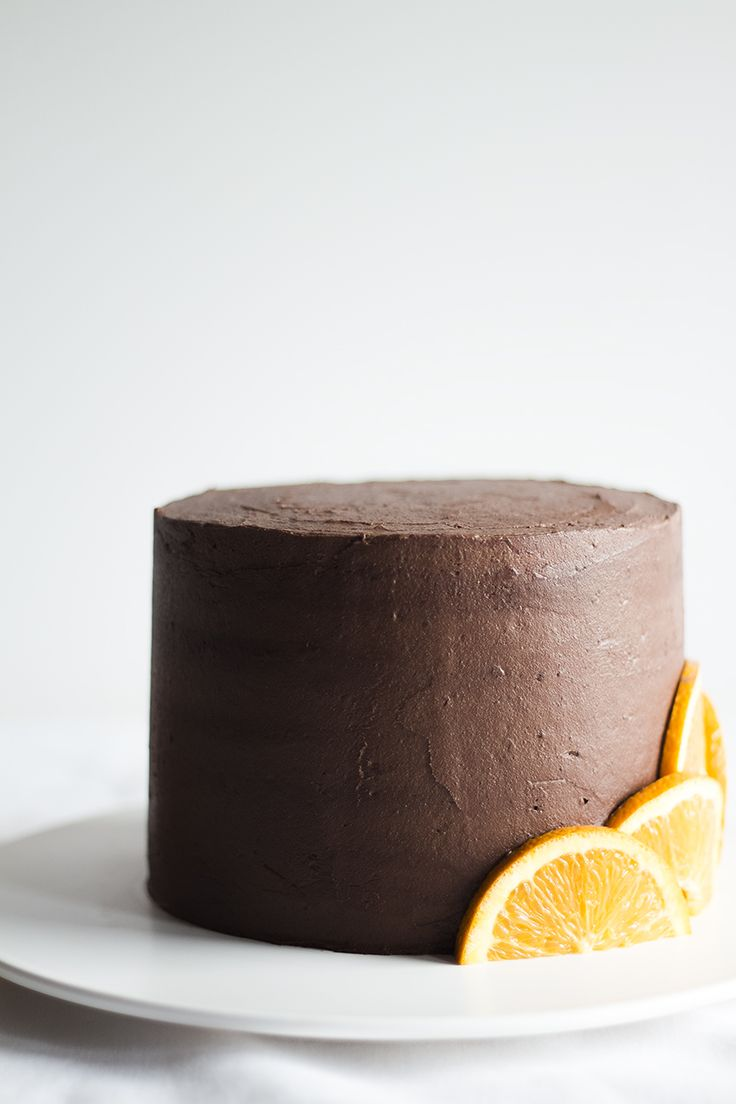 Bolo de Chocolate e Laranja | Orange chocolate cake