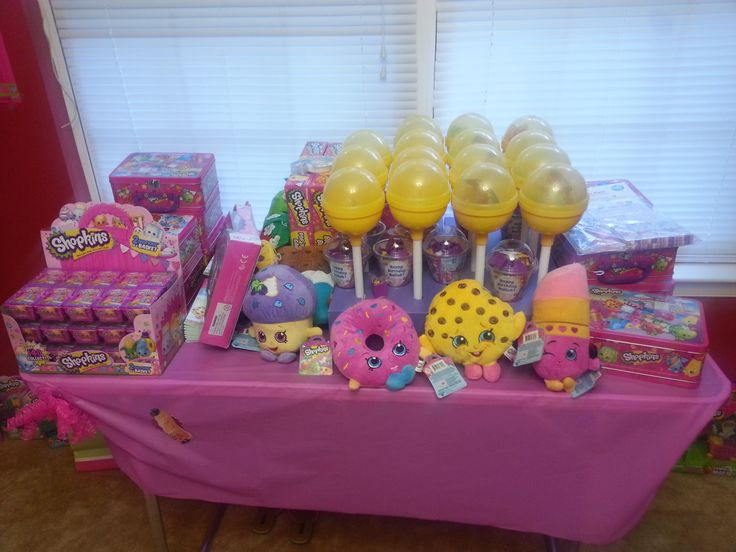 Liah's Shopkins Store, once you shop you can't stop!!