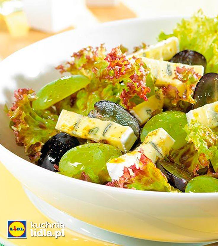 Sałatka z winogron. Kuchnia Lidla - Lidl Polska. #lidl #ryneczeklidla