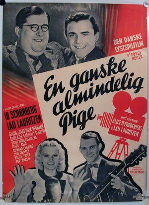 En ganske almindelig pige (1940) Et blad søger en ganske almindelig pige, til at spille holdrollen i en ny film.