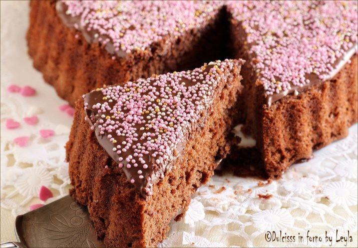 Cuore di Nutella e cioccolato