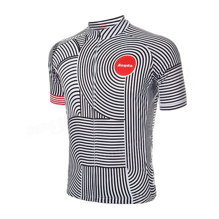 Унисекс на открытом воздухе полиэстер езда на велосипеде короткий рукав Джерси велосипеда MTB велосипед спортивная одежда лето Продается на Banggood.com