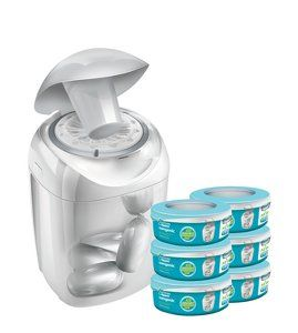 Buy tommee tippee Sangenic Nappy Disposal Starter Pack from our Changing range today from George at ASDA.