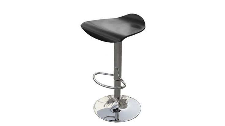 ross tabouret de bar ou cuisine en bois noir design mobiliermoss