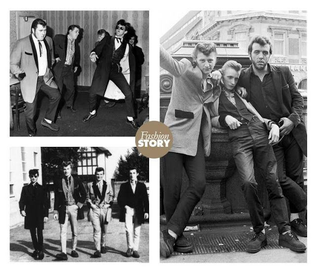 Кстати ...: Rocker, Mods, Панк, Rude мальчик, скинхеды, Тедди мальчик ...