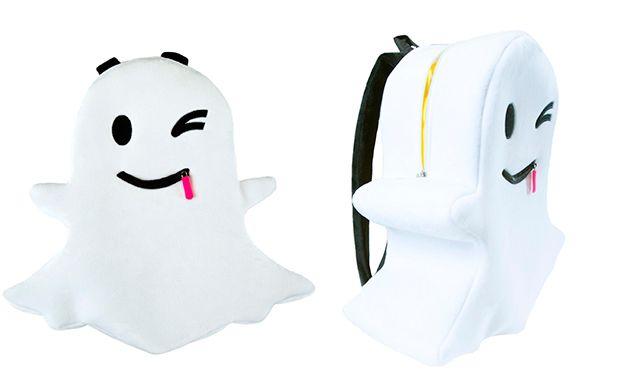 Fantasminha do Snapchat vira mochila. Você usaria? - Moda - CAPRICHO