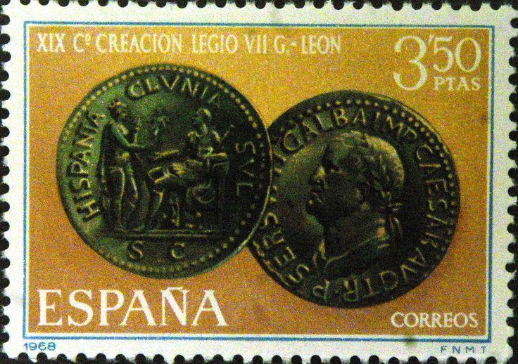 Sellos - XIX Cº Creacion Legio VII - León