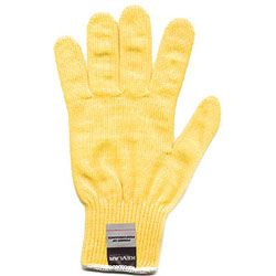 The Kevlar gloves protect against accidental cuts from carving knives plus offer a supeior grip of the objects being carved.  $12.95