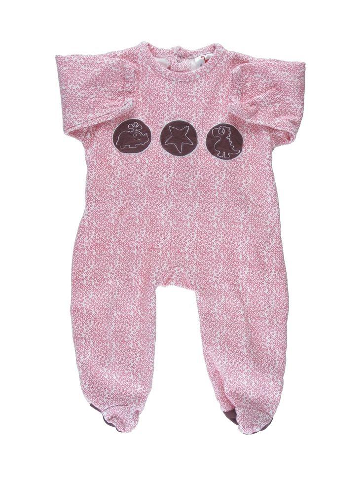 Pyjama 1 pièce Fille LA QUEUE DU CHAT 3 mois pas cher, 13.86 €