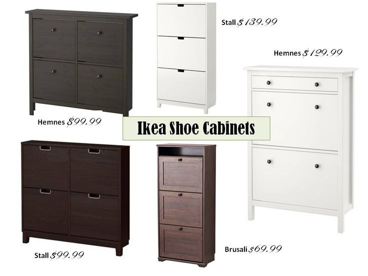 Product + Inspiration: Hemnes Shoe Cabinet                                                                                                                                                                                 More