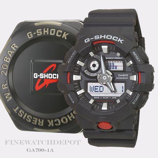Authentic Casio G-Shock Mens Super Illuminator Digital Watch GA700-1A