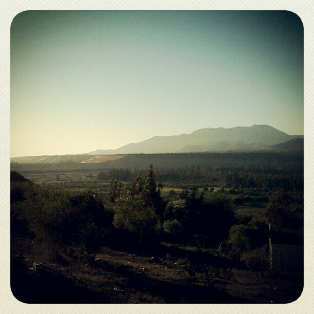 Valle del Limarí. Viste desde Las Brisas.
