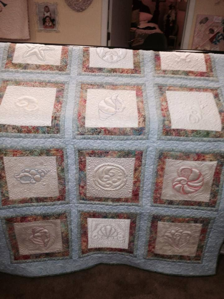 17 Best Images About Quilting Trapunto Sea Themes On
