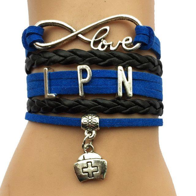 Licensed Practical Nurse Charm Bracelet