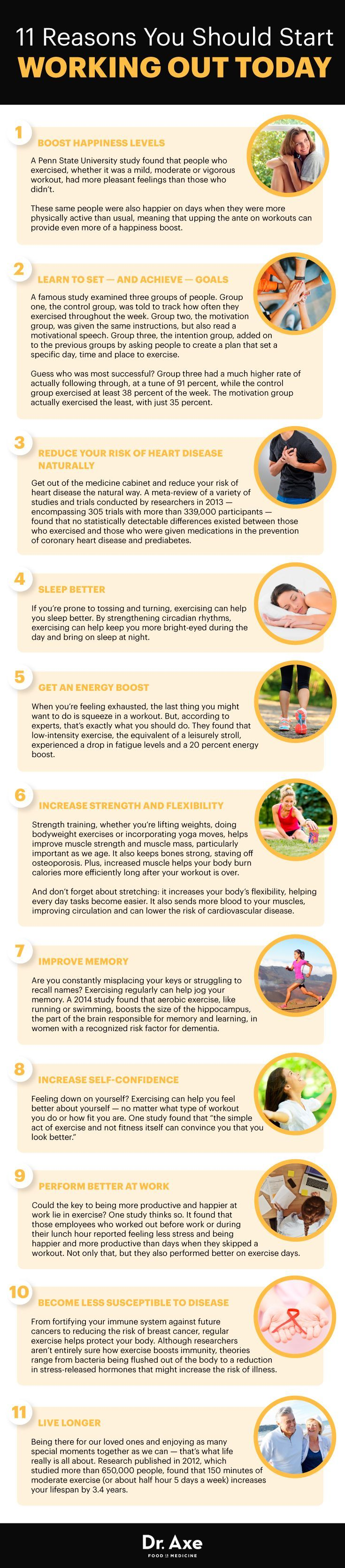11 Benefits of Exercise! #healthyliving #healthylifestyle