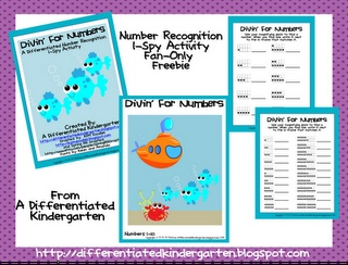 A Differentiated Kindergarten: It's fan appreciation day at A Differentiated Kindergarten's facebook page . . . which means A FREEBIE or two or . . . three.