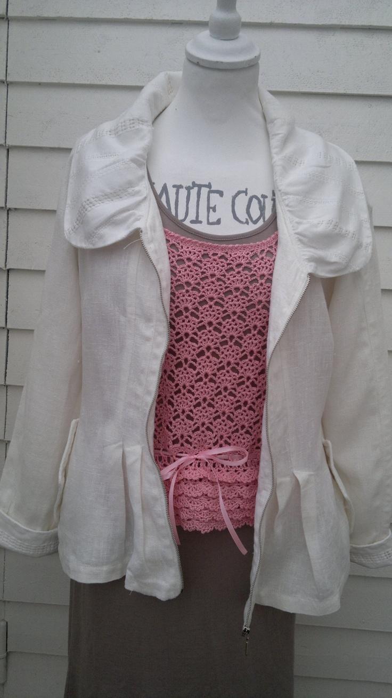 white linen jacket Elenor 101,  http://sussili.blogspot.se/2013/03/vita-var-sommar-styles-2013.html
