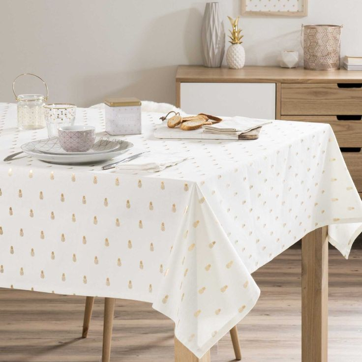 Latest nappe noel maison du monde finest deco table de noel les plus with table de salle a - Maison du monde nappe ...