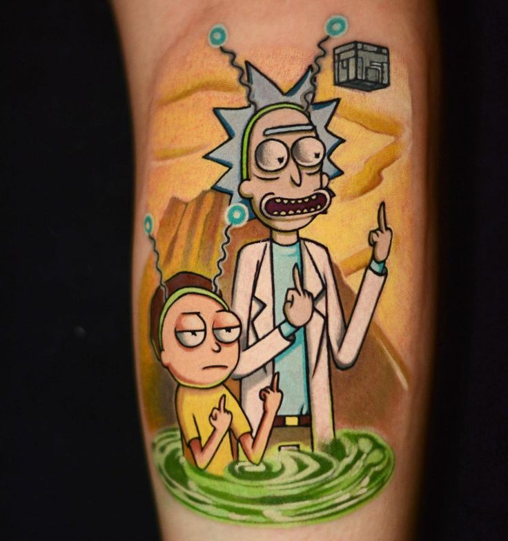 Rick And Morty Tattoo: 2903 Best Best Tattoos Images On Pinterest
