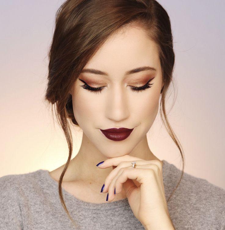 Long cool woman in a black dress the hollies tutorial de maquillaje