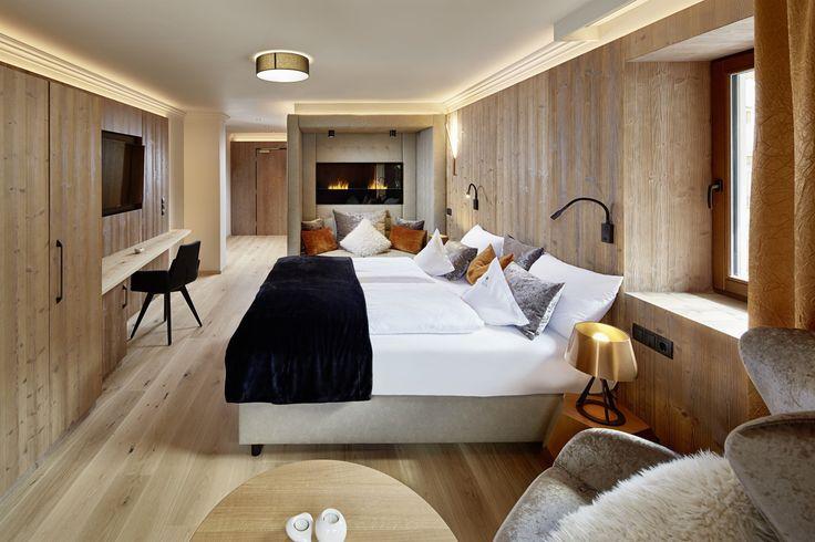 Luxuriöses Hotelzimmer im Hotel Alpenschlössl & Linderhof****s