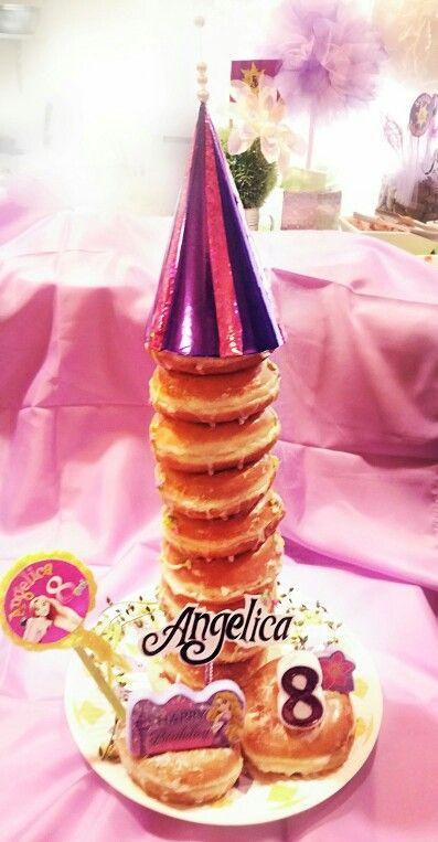 tangled doughnut tower