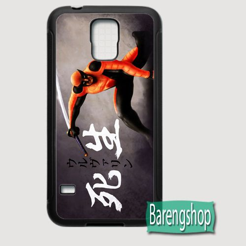 Rubber Case Wolverine Comics Custom Samurai Samsung Galaxy S5 Case