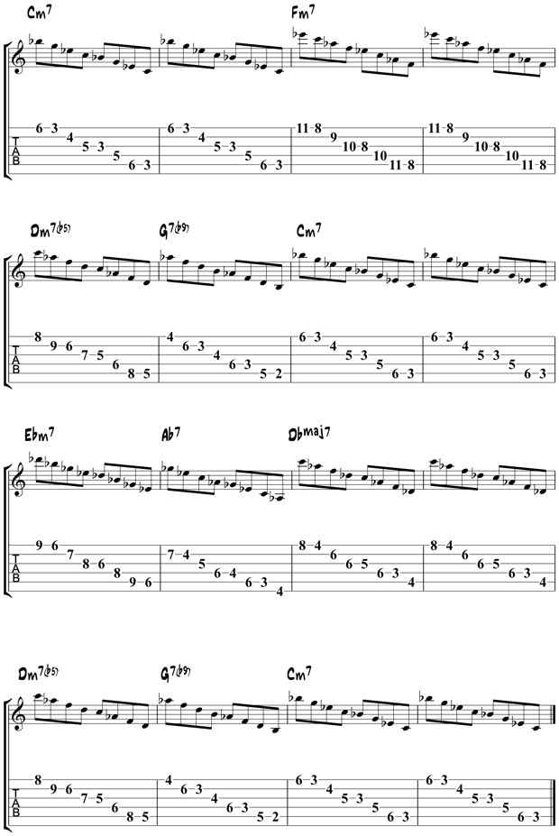 Jazz Guitar Arpeggios 7