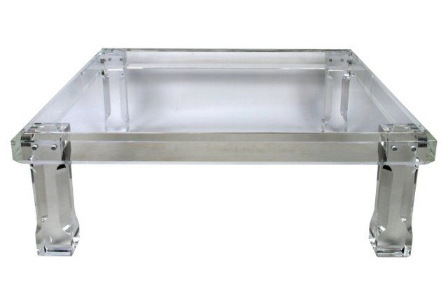 1000 Ideas About Lucite Coffee Tables On Pinterest Coffee Tables Lucite Table And Brass