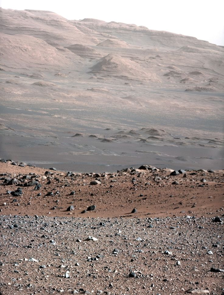 The Clearest Images Of Another Planet You've Ever Seen    Now that the Curiosity rover is good and settled, it's starting to take in some scenery.