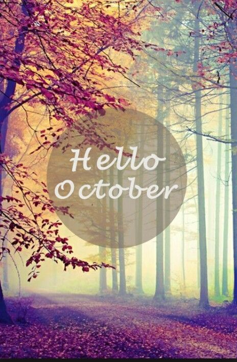 Hello October Quotes Quote Months October Hello October October Quotes  Goodbye September