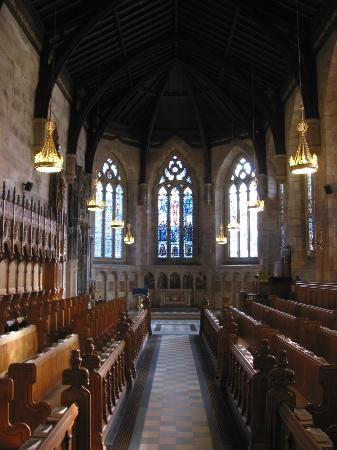 Saint Andrews University Chapel, Scotland